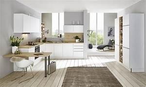Küchen L Form Modern : nolte k chen feel wei softmatt wildeiche l form k che ~ Watch28wear.com Haus und Dekorationen