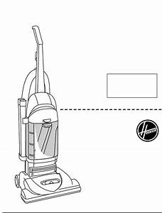 Hoover Vacuum Cleaner Bagless Upright Vacuum Cleaner User
