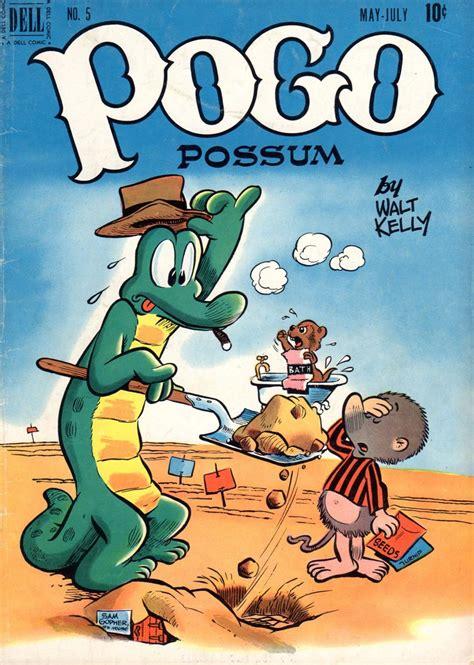 Walt Kelly's POGO Comic | Funny animal comics, Comic book ...