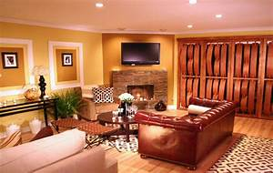 Living room categories taupe red modern living home for Warm wall colors for living rooms