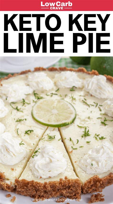 quick easy keto key lime pie keto recipes lime pie