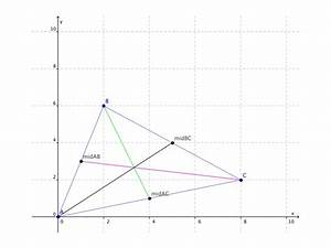 Geometry Median Of A Triangle Formula
