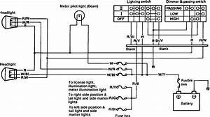 Suzuki Sierra Headlight Wiring Diagram