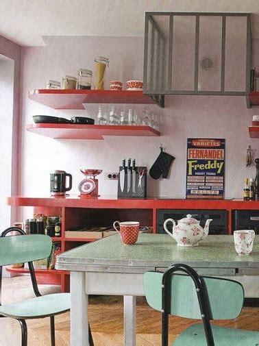 deco vintage cuisine la cuisine vintage s 39 affirme en déco tendance
