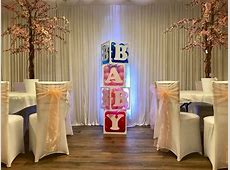 Giant Baby Blocks, Baby Shower Hire Liverpool Ozzy James