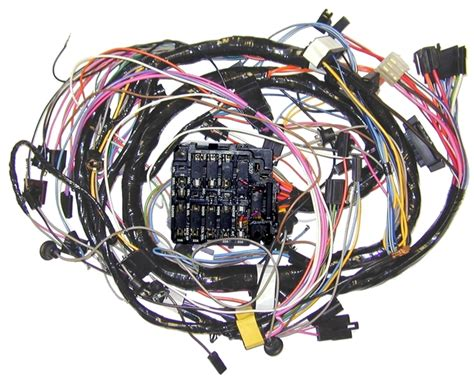 Corvette Wiring Harness by 1972 Corvette Wiring Harness Dash With Factory