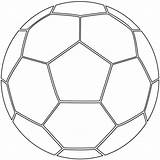 Ball Soccer Coloring Printable Pages Categories sketch template