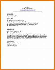 7 application letter for bank teller texas tech rehab With sample cover letter for teller position with no experience
