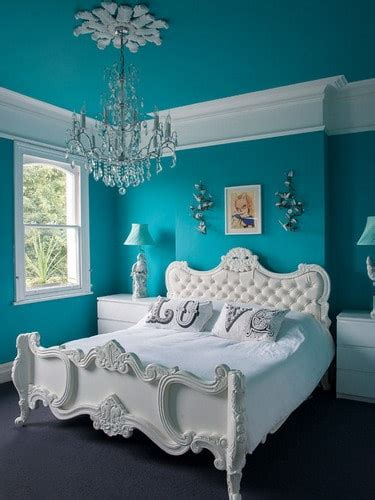blue  white bedroom wall color schemes ideas home