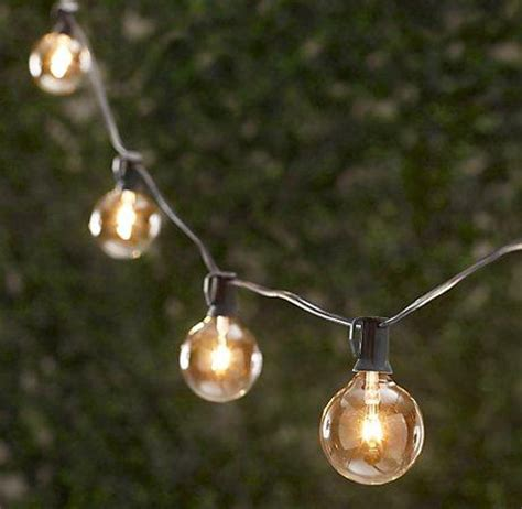 wedding string lights outdoor decor pic heavy weddingbee