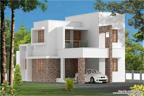 3 Bedroom Contemporary Kerala Home At 1680 Sqft
