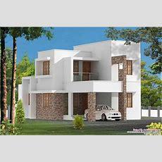 3 Bedroom Contemporary Kerala Home At 1680 Sqft