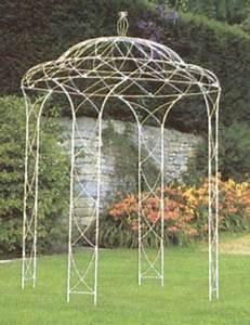 Gloriette En Fer Forgé : gloriette kiosque de jardin ~ Premium-room.com Idées de Décoration