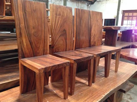 chair acacia wood ch bali wood slab