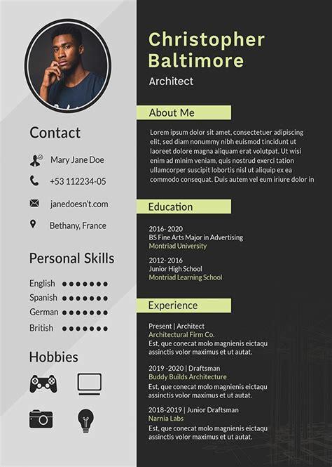 Create Curriculum Vitae by Create Professional Resume Curriculum Vitae Cover Letter
