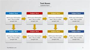 Text Boxes Powerpoint Diagram