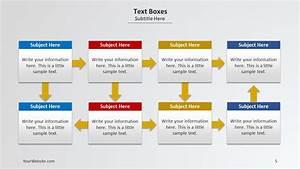 Text Boxes Powerpoint Diagram  U2013 Slide Ocean