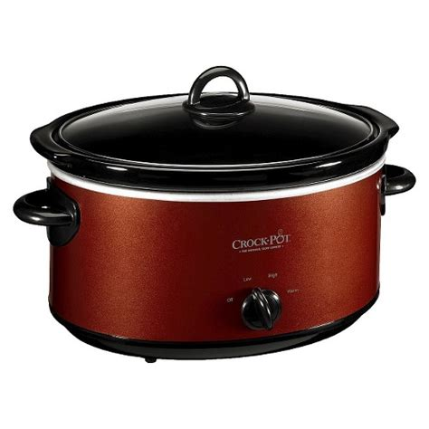 crock pot 174 6 qt manual cooker scv603 ebay