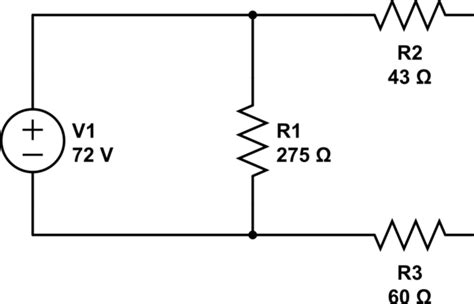 How Find Thevenin Resistance Circuit With Voltage