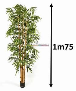 Palmier Artificiel Gifi : deco jardin avec tige de bambou saint denis maison design ~ Teatrodelosmanantiales.com Idées de Décoration
