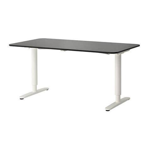 add ikea bekant sit stand legs to a bekant corner desk