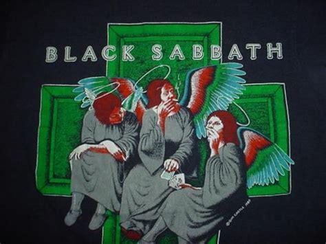 vintage black sabbath  shirt heaven  hell dio