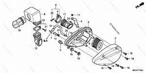 Honda Motorcycle 2006 Oem Parts Diagram For Air Cleaner