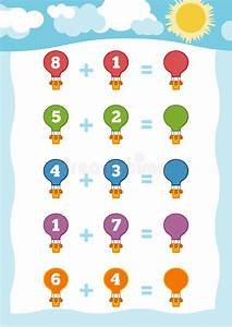 Counting Game For Children  Addition Worksheets With