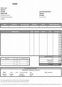 Auto Entreprise 2016 : modele facture excel 2 tva document online ~ Medecine-chirurgie-esthetiques.com Avis de Voitures
