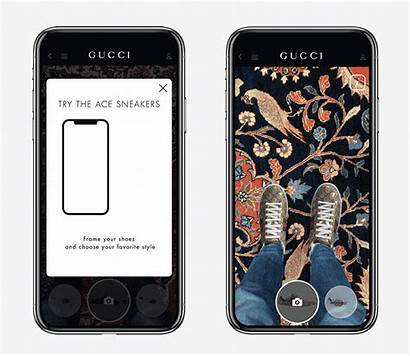 Gucci App Try Reality Shoes Augmented Ios
