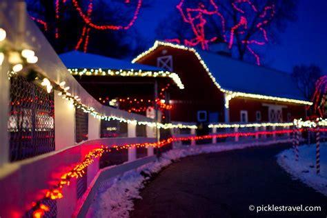 best christmas light displays best christmas light displays in minnesota pickles