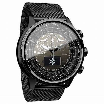 Lokmat Smart Screen Touch Tactical Round Smartwatch
