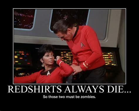 Redshirts Always Die By Redhatmeg On Deviantart