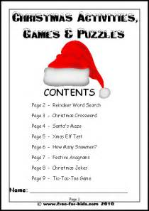 christmas crossword puzzle 4th grade new calendar template site