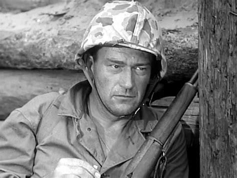 Allan Dwan Meets John Wayne On The 'sands Of