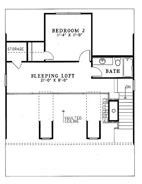 Farmhouse Style House Plan 2 Beds 2 Baths 1400 Sq/Ft