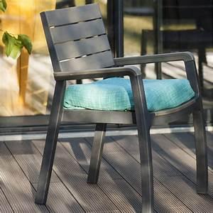 Salon De Jardin Keter : fauteuil de jardin en r sine harmony couleur anthracite ~ Dailycaller-alerts.com Idées de Décoration