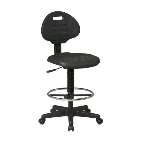 shop office worksmart black contemporary drafting