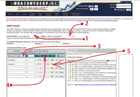 Website Ranking by How To Check Website Ranking In 5 Tools To