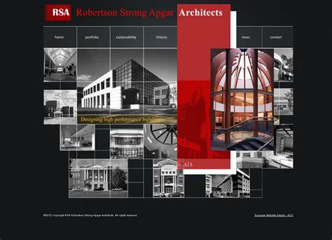 architectural websites acs web development blog