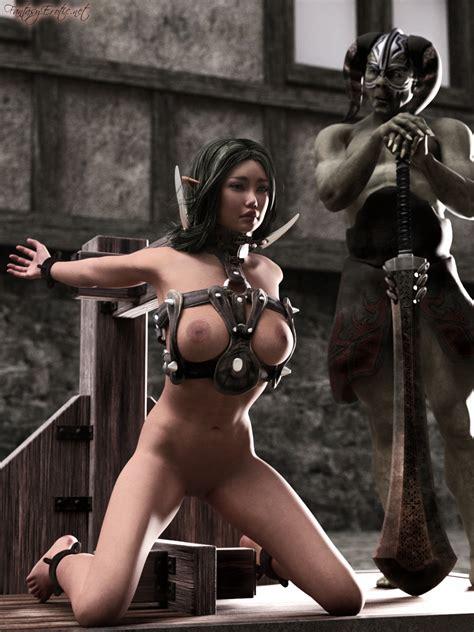 Elf Warrior In Trouble Fantasyerotic