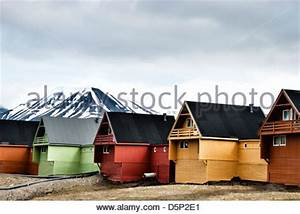 Häuser In Norwegen : bunte h user norwegen spitzbergen longyearbyen stockfoto bild 49926412 alamy ~ Buech-reservation.com Haus und Dekorationen