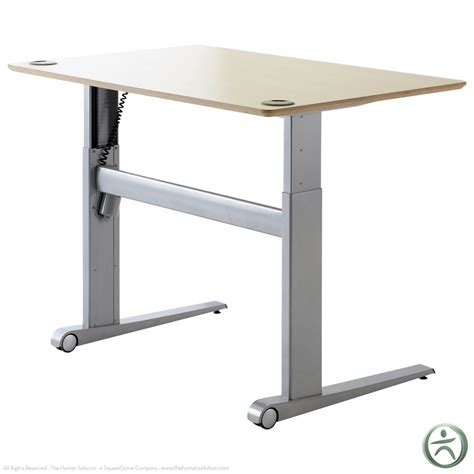 sit or stand desk shop conset 501 17 laminate electric sit stand desk