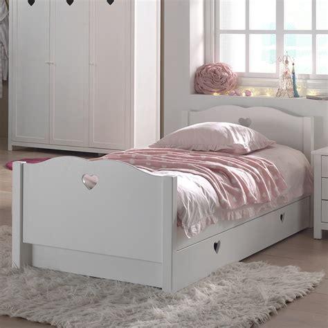 chambre lit blanc lit gigogne blanc