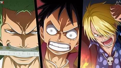 Zoro Luffy Piece Sanji Anime Roronoa Wallpapers