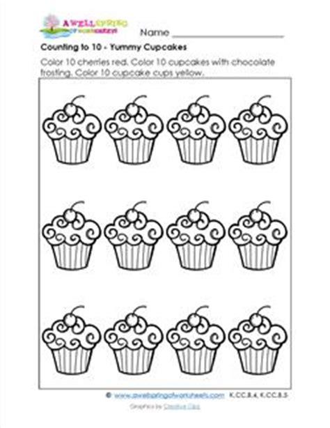 count   yummy cupcakes kindergarten math