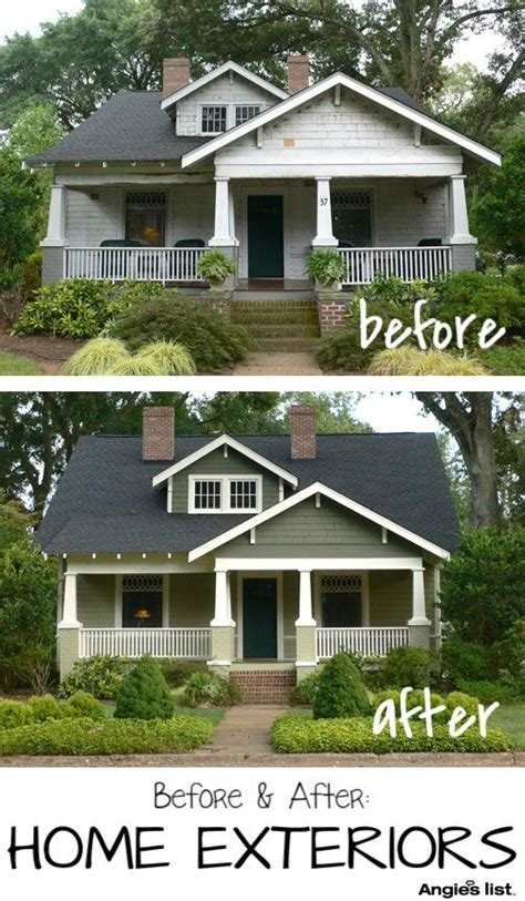 Photos Before & After Exteriors  Before And After