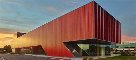 landmark building metal architecture