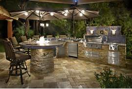 Custom Designed Amp Manufactured Outdoor Kitchens  Galaxy Outdoor