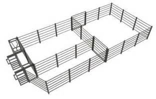 Small Cattle Working Pen Designs